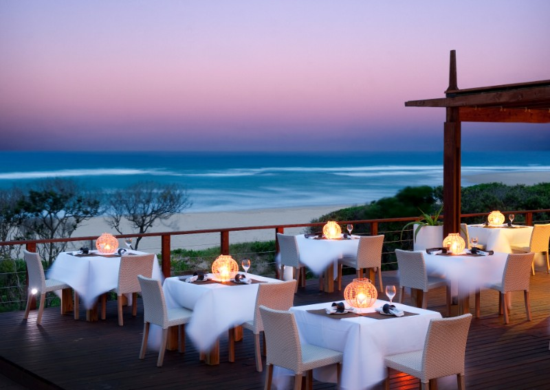 Outdoor dining with a view 2 White Pearl Resorts