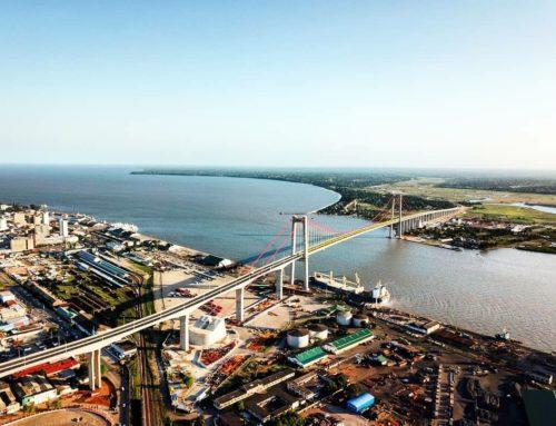 MOZAMBIQUE: AFRICA'S LARGEST SUSPENSION BRIDGE OPENS 10th NOVEMBER 2018