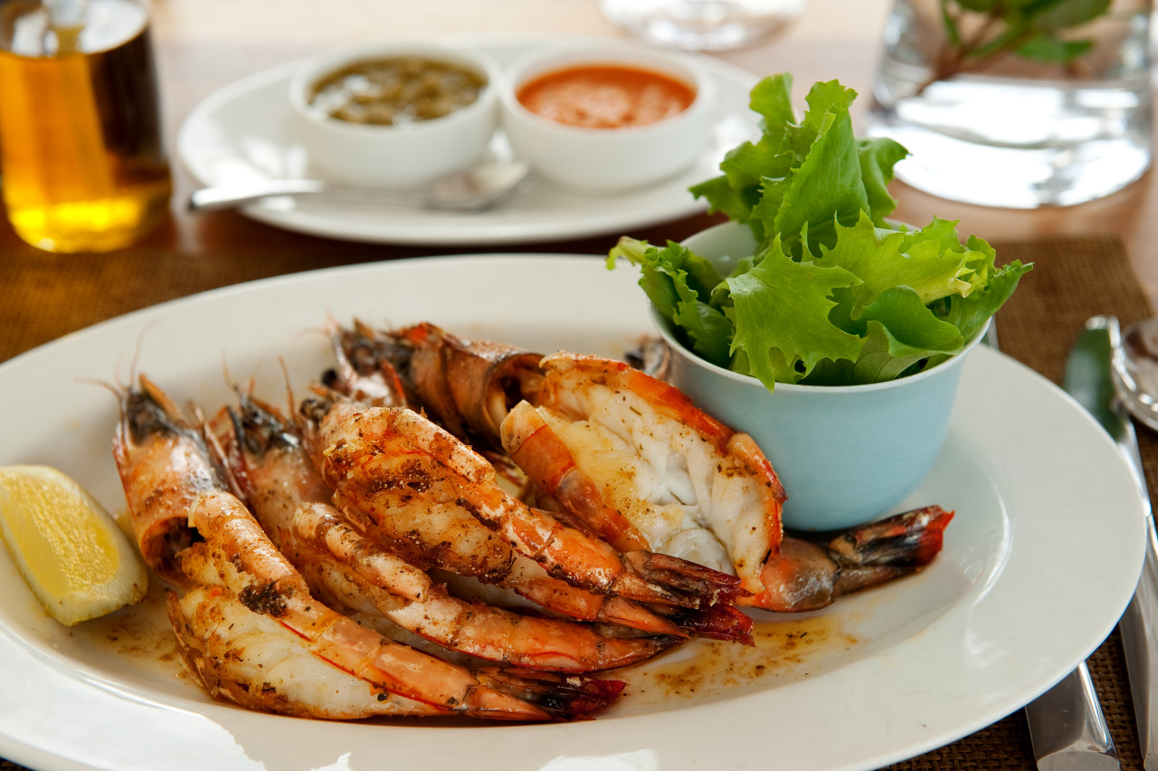 USED Mouth watering Mozambican prawns White Pearl Resorts
